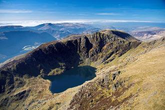 Glaciation, Cader Idris, Cwm Cau