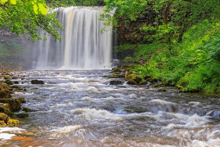 Sgwd yr Eira, Waterfall, Fforest Fawr, Geopark